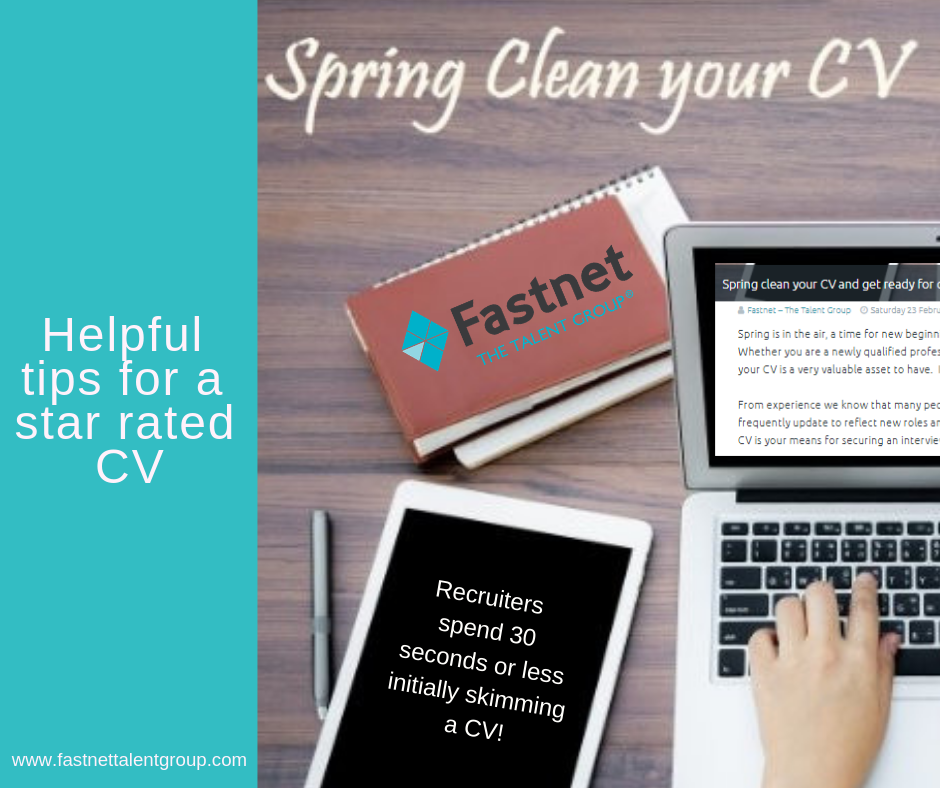 Spring clean your CV and get ready for change!
